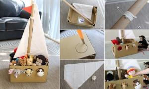 What To Do With Old Cardboard 2