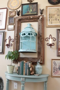What To Do With An Old Birdcage 1