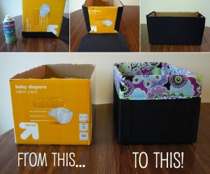 What To Do With Old Diaper Boxes 1