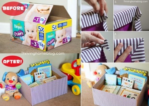 What To Do With Old Diaper Boxes 6