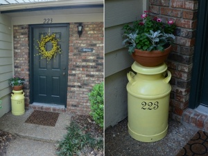 What To Do With Old Milk Cans 2