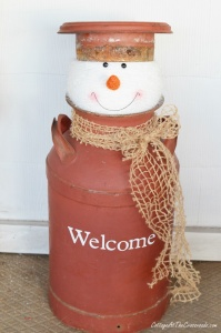 What To Do With Old Milk Cans 3