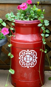 What To Do With Old Milk Cans 4