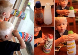 What To Do With Old Coffee Creamer Bottles 3
