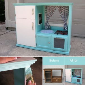 What To Do With An Old TV Cabinet 2