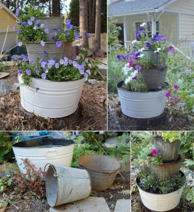 What To Do With Old Metal Buckets 4