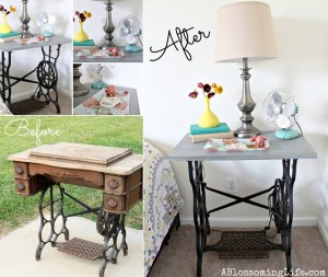 What To Do With Old Sewing Machine Stands 1