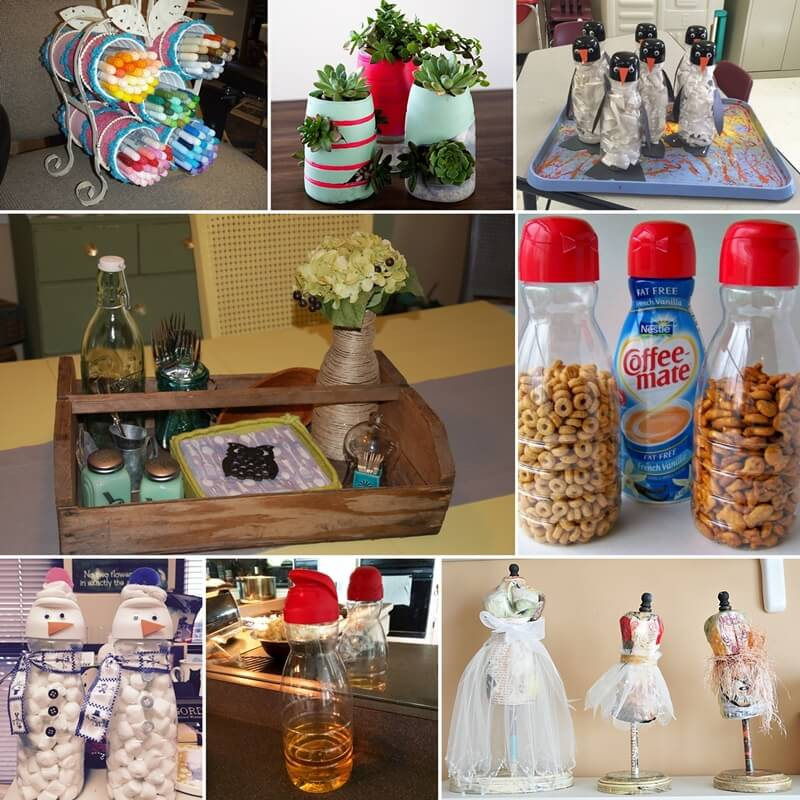 Whattodowithold What To Do With Old Coffee Creamer Bottles